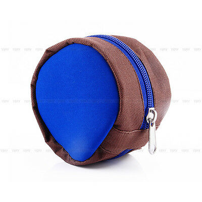 Portble Soft  Protector Pocket Cover Bag Pouch EB Outdside Fly Fishing Reel Case