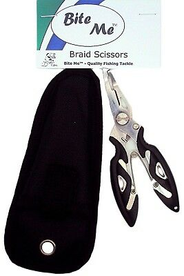 Braid Scissors Fishing Line Cutter CRIMP PLIERS WIRE TRACE SPLIT RING TOOL