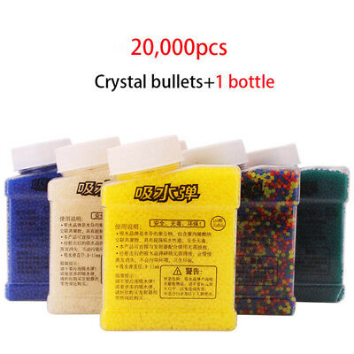 Bottled Water Bullet for M4 AK 12 47 9-11mm crystal bombs Gel ball