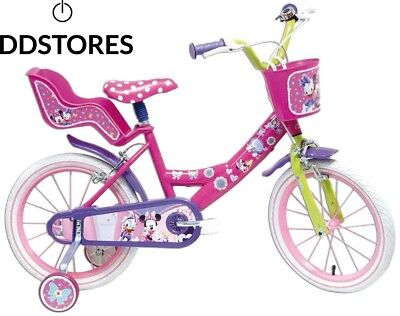 Disney Minnie Mouse Vélo Enfant Rose 16""