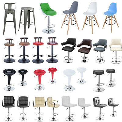 Breakfast Bar Stool Wooden Kitchen Dining Stools High Bar Stool Swivel Chairs