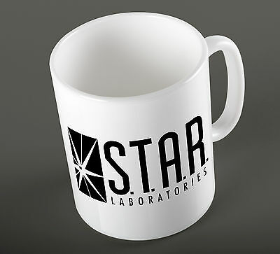 Star Labs The Flash Arrow Barry Allen Speedster Comic Inspire Ceramic Cup Mug