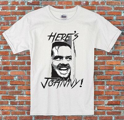 Here's Johnny The Shining Movie Inspired T Shirt S M L XL 2XL