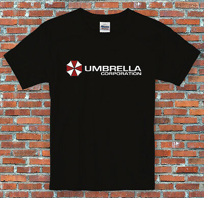 Umbrella Corporation Resident Evil Zombies Game Movie Inspired T Shirt S - 2XL
