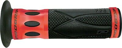 Pro Grip 728 Anodized Road/Scooter Grips Red/Black 728RD
