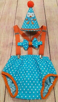 Hoot Cake Smash Outfit