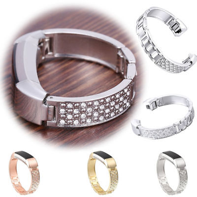 Jewelry Bangle Replacement Metal Band Stainless Steel Straps For Fitbit Alta/HR