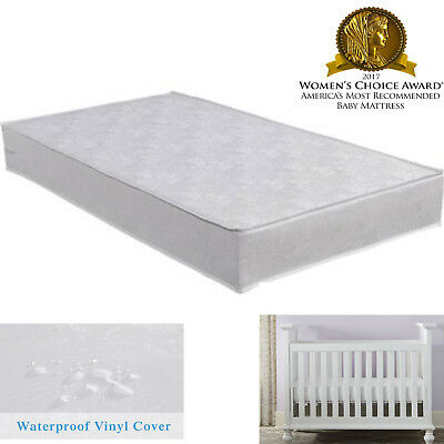 Safety 1st  Sweet Dreams Baby and Toddler Crib Bed Mattress White Waterproof