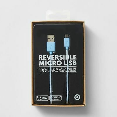 NEW Target Reversible Micro USB to USB Cable - 1.2M