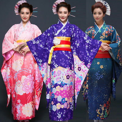 Lovelive! Japanese traditional Cosplay Party Kimono Dress Bathrobe Women Suit