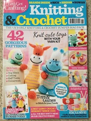 Let's Get Crafting Knitting & Crochet Magazine - Issue 46