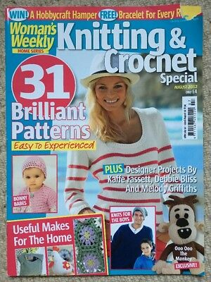 Woman's Weekly Knitting &  Crochet Special Magazine - August 2012
