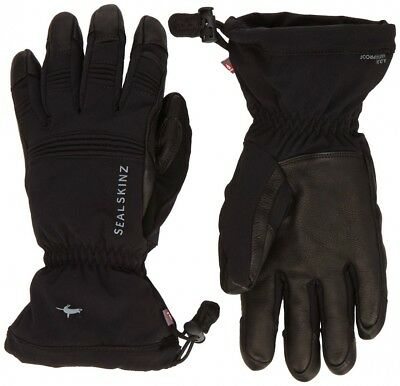 (Small, Black - black) - Sealskinz Extreme Cold Weather Glove. Shipping is Free