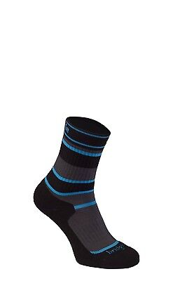 (Size 1 - 3, Grey) - Bridgedale Children's Merinofusion Hiker Socks. Brand New