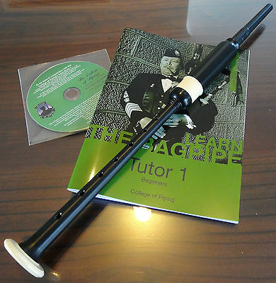 Bagpipe Learners Package- Standard PC 3 practice chanter, CD-rom and Tutor Book