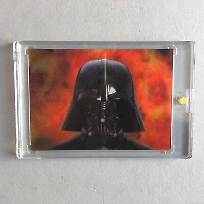 Scarce LENTICULAR MORPHING Vader / Card 2/2 Revenge Of The Sith