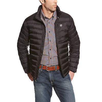 Ariat Mens Ideal Down Filled Jacket II - Black