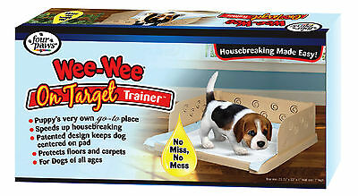 Four Paws Wee Wee On Target trainer, Puppy Toilet Training, House Training