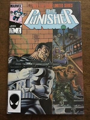 The Punisher, First Solo Limited Series (1986), #2, #3, #4, #5, Great Condition