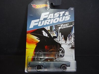 Hot Wheels Plymouth Road Runner 1970 Grey Fast and Furious DWF68-999A 1/64