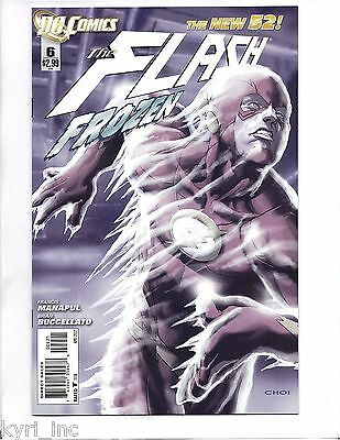 The Flash #6  Limited Variant Mike Choi Cover Manapul Buccellato New 52  Dc R