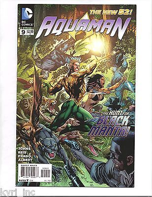 AQUAMAN #9 1st PRINT THE OTHERS PART 3 of 4 BLACK MANTA NEW 52 DC COMICS B4