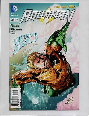 AQUAMAN #26 1st PRINT SEA OF STORMS PART 1 NEW 52 DC COMICS