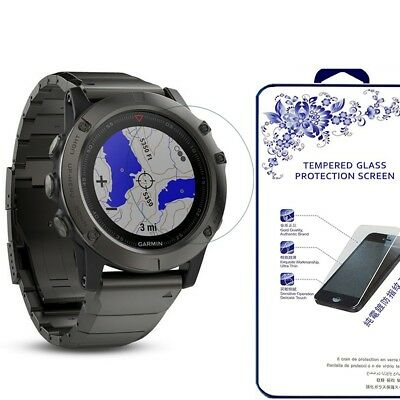 For Garmin Fenix 5 Tempered Glass Screen Protector