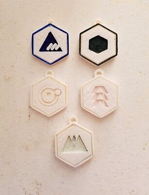 Hand Painted Coins - Destiny (3D Printed)