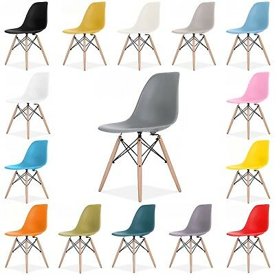 Eames Eiffel DSW Retro Vintage Plastic Dining Office Lounge Chair Designer