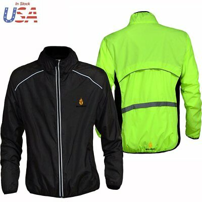 Unisex Windproof  Cycling Clothing Bike Bicycle Ultra-thin Windbreaker Raincoat