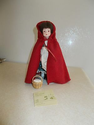 AVON, Little Red Riding Hood doll, the Fairy Tale Doll Collection. Still in box