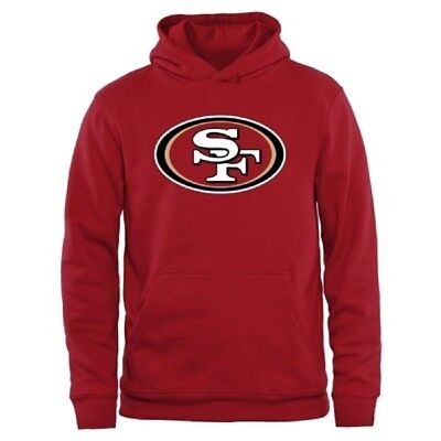 (Youth Large 14/16, San Francisco 49ers) - NFL Youth Team Logo Pullover Fleece