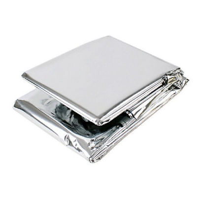 Emergency Solar Space Blanket Survival Safety First Aid Insulating Mylar Thermal