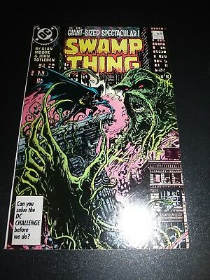 SAGA OF THE SWAMP THING #53 DC Comics, 1986 Alan Moore Arkham High-Grade VF/NM