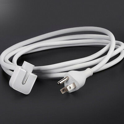 EU/US Power Charger Extension Cable Cord Adapter for Apple MacBook Pro Air iPad
