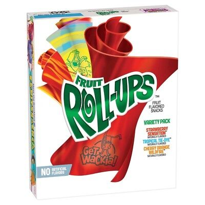 Fruit Roll Ups Variety Pack 141g- Pack of 3