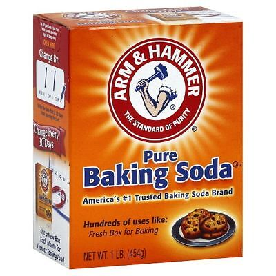 Arm and Hammer Pure Baking Soda 454g 1LB (24 pack case)