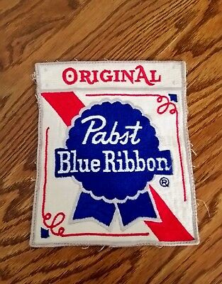Pabst Blue Ribbon Embroidery Patch