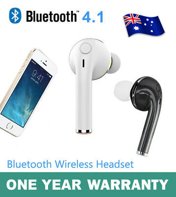 Wireless Bluetooth Sport Headset Headphone Earphone For iPhone 6 6S 7 Samsung