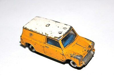 Dinky Toys Yellow/White Mini AA Services Van # 274 With Roof