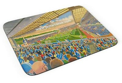 Ewood Park Stadium Fine Art Mouse Mat - Blackburn Rovers Football Club