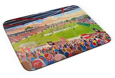 St James' Park Stadium Fine Art Mouse Mat - Exeter City Football Club