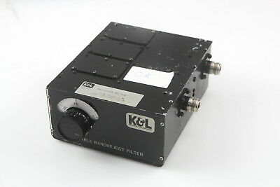 K&L 3TNF-100/200-2.0-N Tunable Bandreject Microwave Filter 100-200MHz