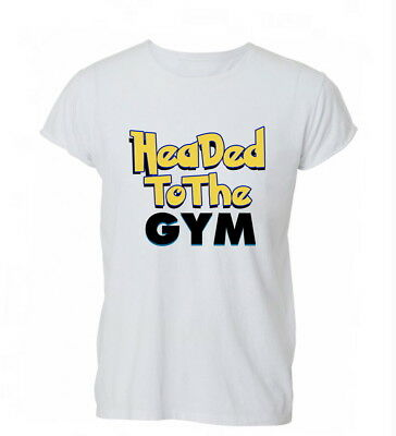 Headed To The Gym Funny Pokemon Inpired Go Cotton Unisex T-Shirt T Shirt