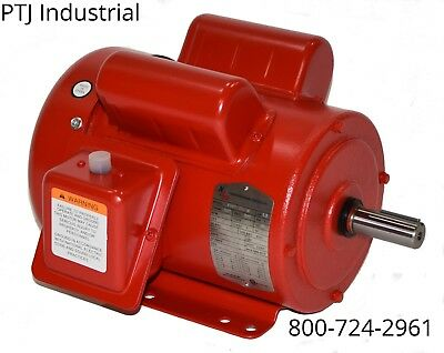 2 hp electric motor 145t/56hz 1745 1 phase 115/230 leeson 110090 f145t2s4c-mo