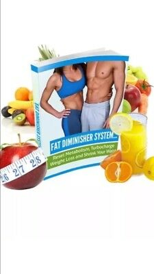 Fat Diminisher Weight Loss System Lose Weight Fast! ....PDF Format 5🌟