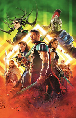 "Thor - Ragnarok ( 11"" x 17"" ) Movie  Collector's  Poster Print  (T14)- B2G1F"