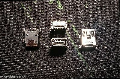 Usb Mini-B SMD Connector PCB Socket (x4)