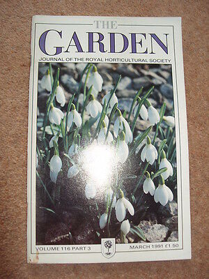 The Garden Journal of The Royal Horticultural Society Volume 116 March 1991